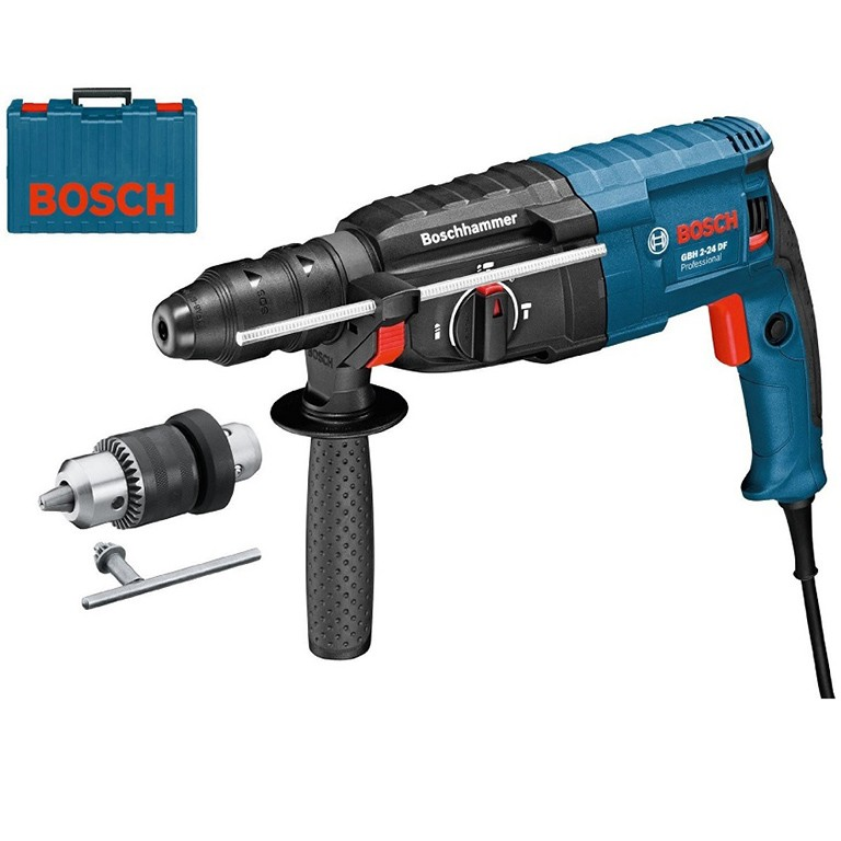 BOSCH GBH 2-24 DFR Перфоратор със SDS plus 790 W, 0 - 920 оборота, 0-4100 удара, 2.7 J GBH 2-24 DFR PROFESSIONAL