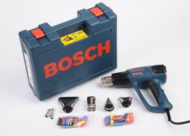 Bosch GHG 660 LCD Professional Пистолет за топъл въздух в куфар + подарък комплект дюзи 2300 W 50°/50°-660°C 250-500 л/мин. 0 601 944 302