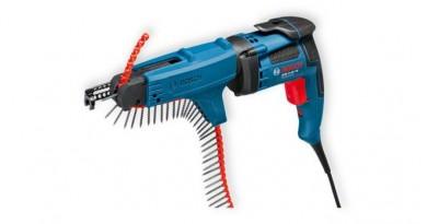 Bosch GSR 6-45 TE + MA 55 Professional Винтоверт електрически с пълнител 701 W 0-4500 об. 20 Nm 0 601 445 101