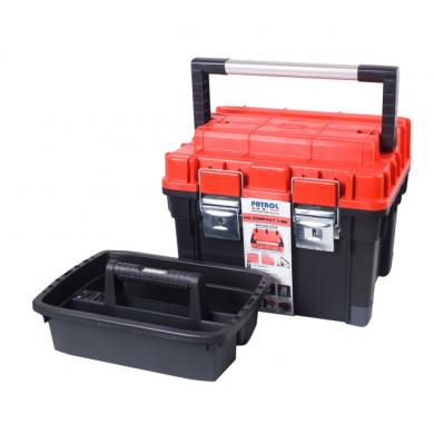 Куфар за инструменти модел HD Compact 1 червен Patrol
