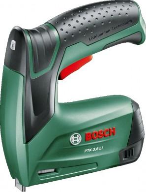 Bosch PTK 36 LI Такер акумулаторен   3.6 V за кламери 4 мм 10 мм 0 603 968 120