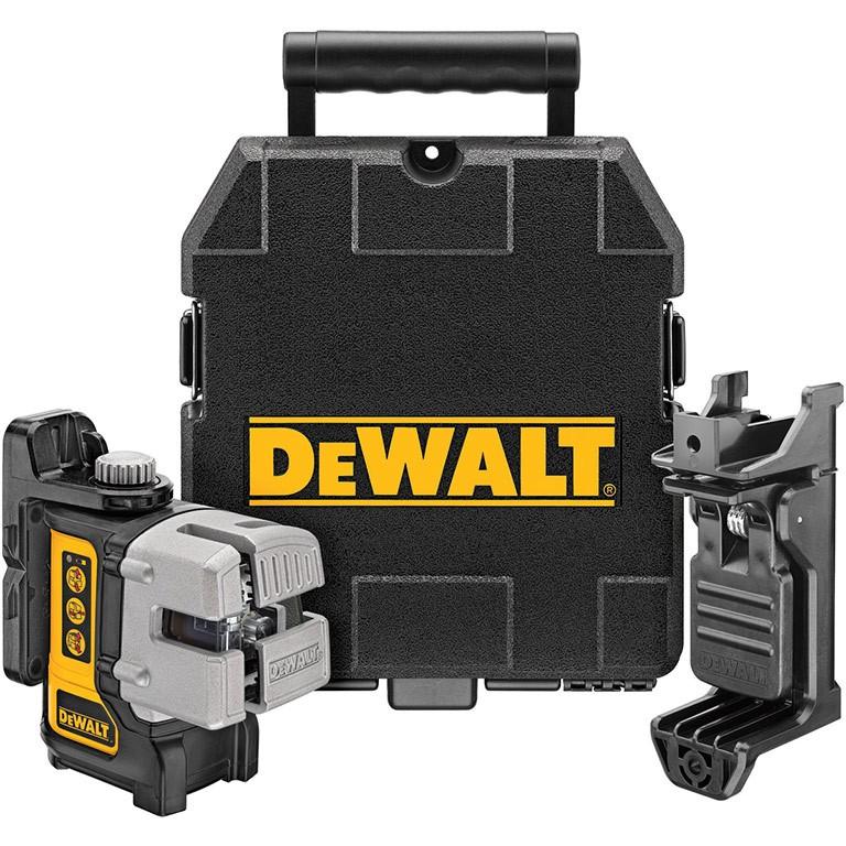 DEWALT DW089K Нивелир лазерен линеен 15.0 м, 0.3 мм/ 1 м DW089K
