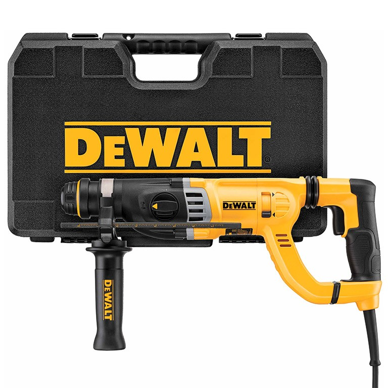 DEWALT D25263K Перфоратор със SDS plus 900 W, 0-1450 оборота, 0-5350 удара, 3.0 J D25263K