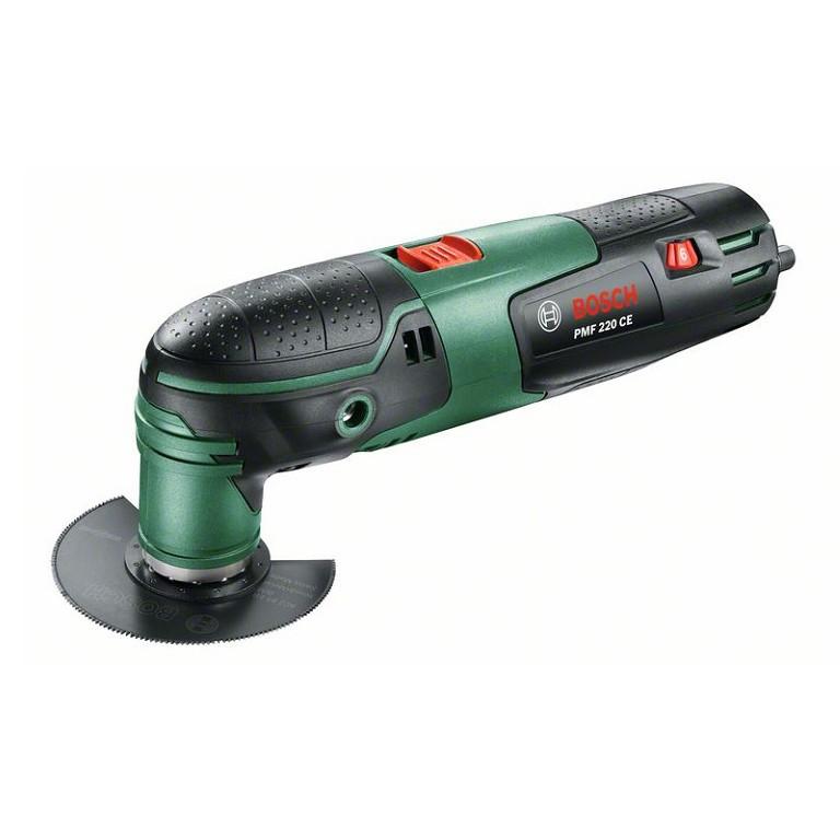 BOSCH PMF 220 CE Инструмент мултифункционален 220 W, вибрации 15000-20000/минута PMF 220 CE