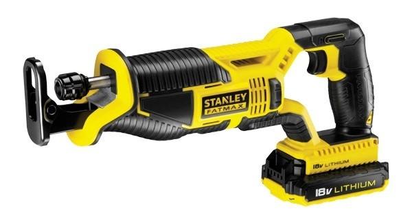 Stanley FMC675D2, Ножовка акумулаторна 18.0 V, 2.0 Ah, 0-3000 оборота, 25.4 мм, FMC675D2-QW